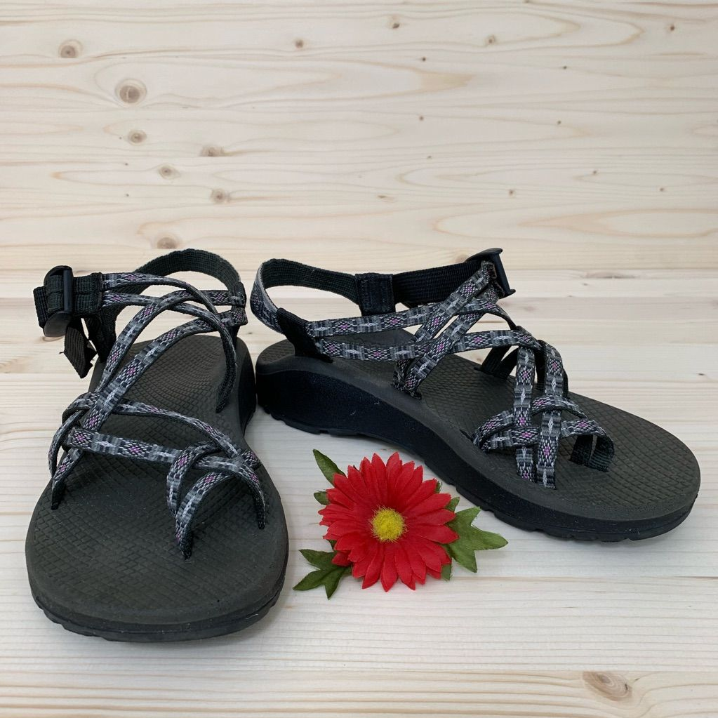 Chaco Shoes | Chaco Zcloud X2 Gray Print Sandals | Color