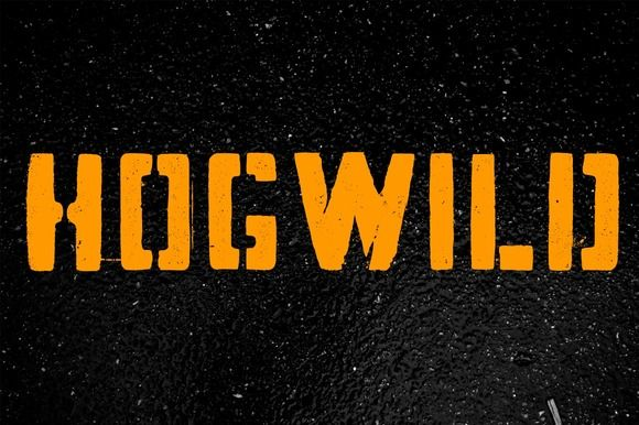 Hogwild™ by Aerotype on @creativemarket