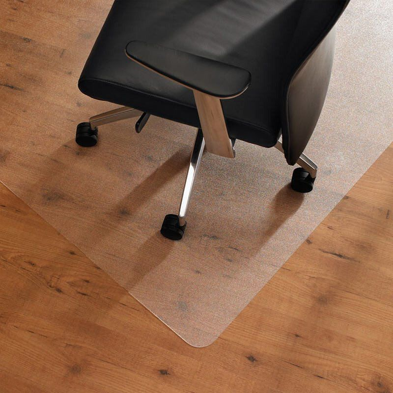 caster chairs on hardwood floors leather bean bag chair protip with laminate and vinylfloors you should always use a plastic mat under rolling to protect your from excessive wear