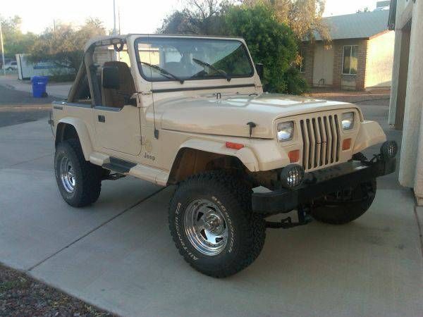 1989 Jeep Wrangler Sahara Jeep Wrangler Jeep Wrangler Yj Jeep Yj