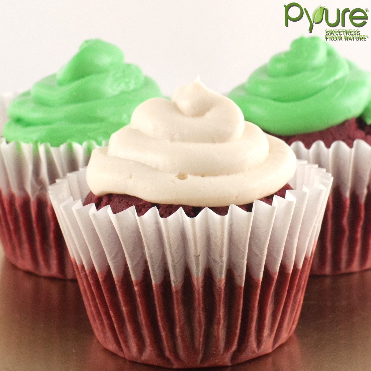 Gluten-Free Sugar-Free Red Velvet Cupcakes -