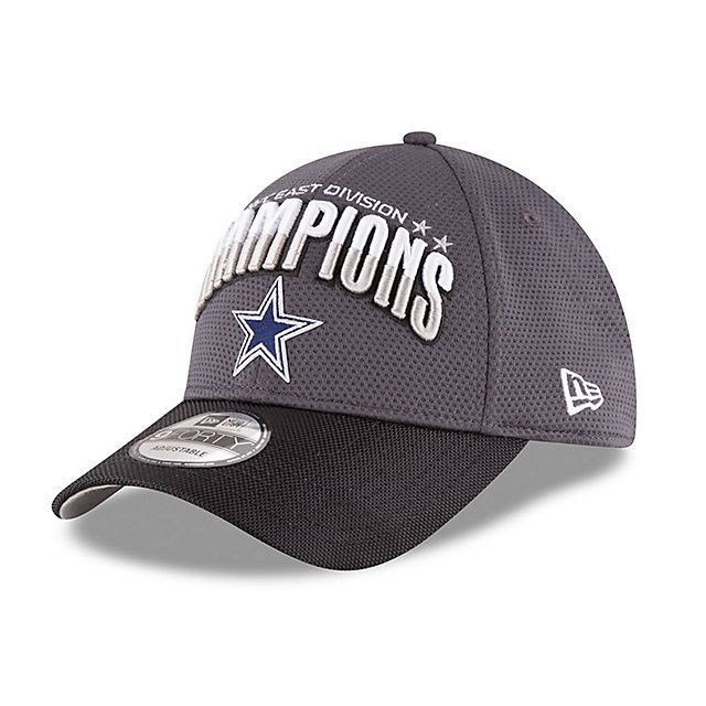 20ff0746 Dallas Cowboys New Era 2016 NFC East Division Champs On-Field 9Forty ...