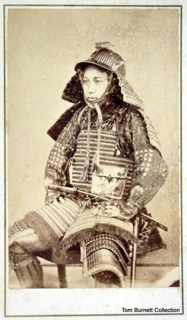 Shimooka, Renjo - Seated Samurai