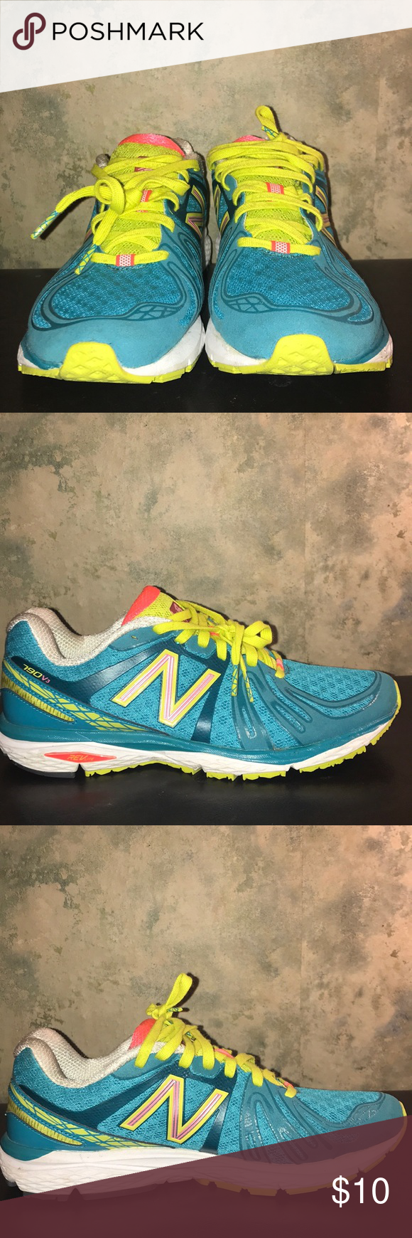 bf2ba91a062ee New Balance 790v3 Trail Running Shoe Colorful, Turquoise, Used but well  conditioned New Balance Shoes Athletic Shoes
