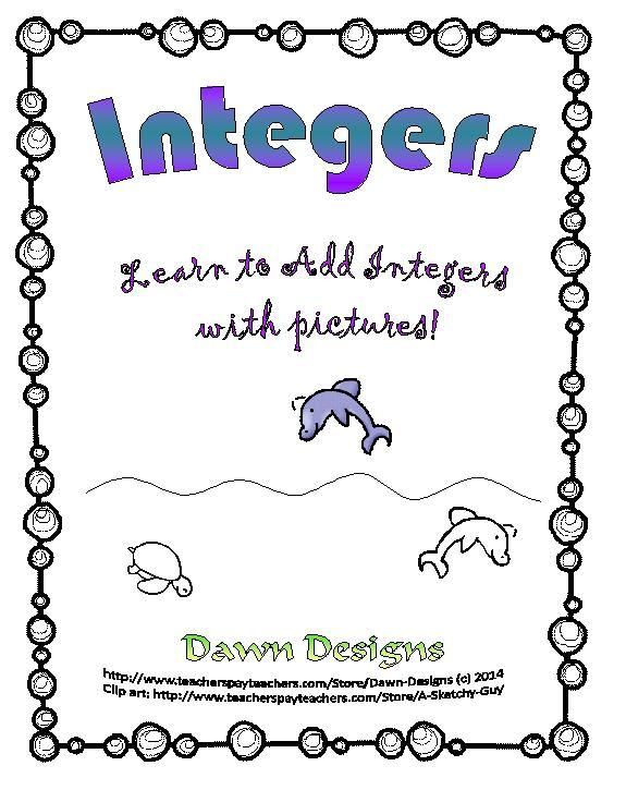 Integer Worksheet Intro to Adding Integers – Adding Integers Worksheet Pdf