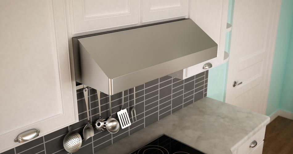 Pin By Andy On Appliances Stainless Range Hood Installing Cabinets Under Cabinet Range Hoods