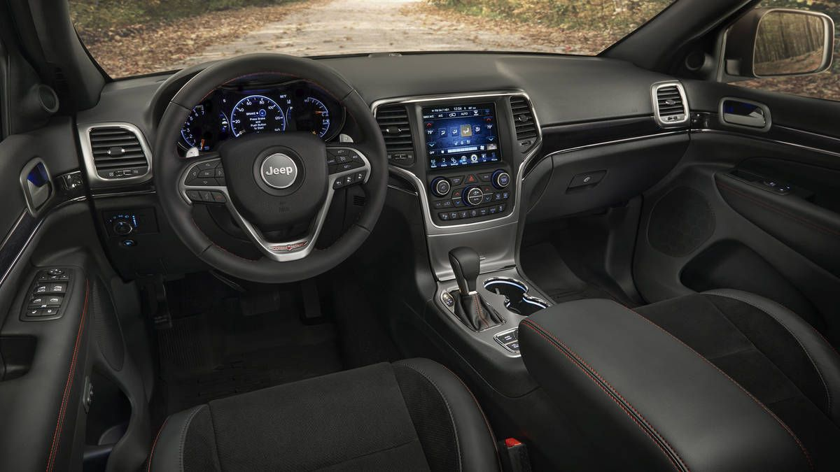 All Black Jeep Grand Cherokee Interior