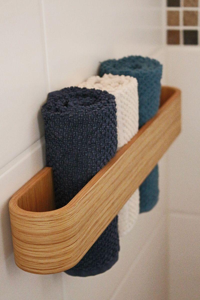 Tamarin Small Der Kleine Fur Ihre Gaste Handtuchhalter Holz Handtuchhalter Bad Badezimmer Gestalten