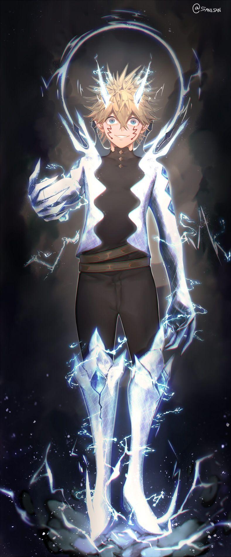 Luck Voltia Black Clover In 2020 Black Clover Anime Black Clover Manga Anime Wallpaper