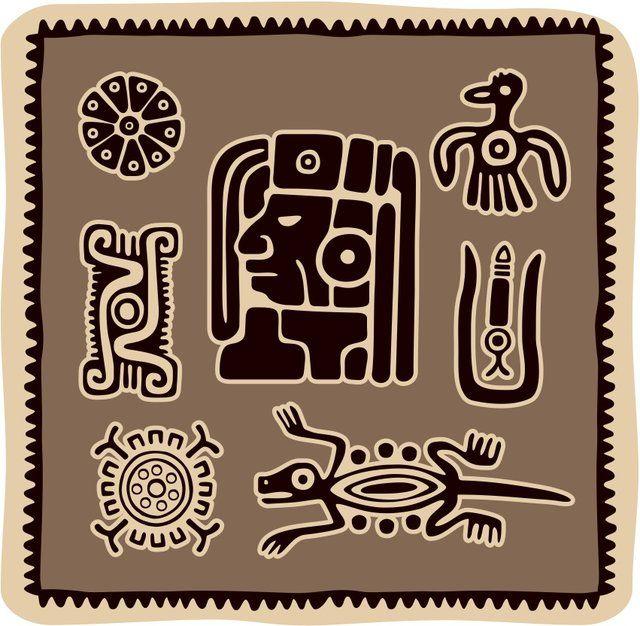 Best 25 Aztec Symbols Ideas On Pinterest