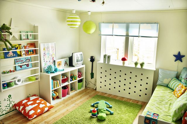 stella & henry: Unisex :: Nursery & Kid Bedroom--Loving this layout