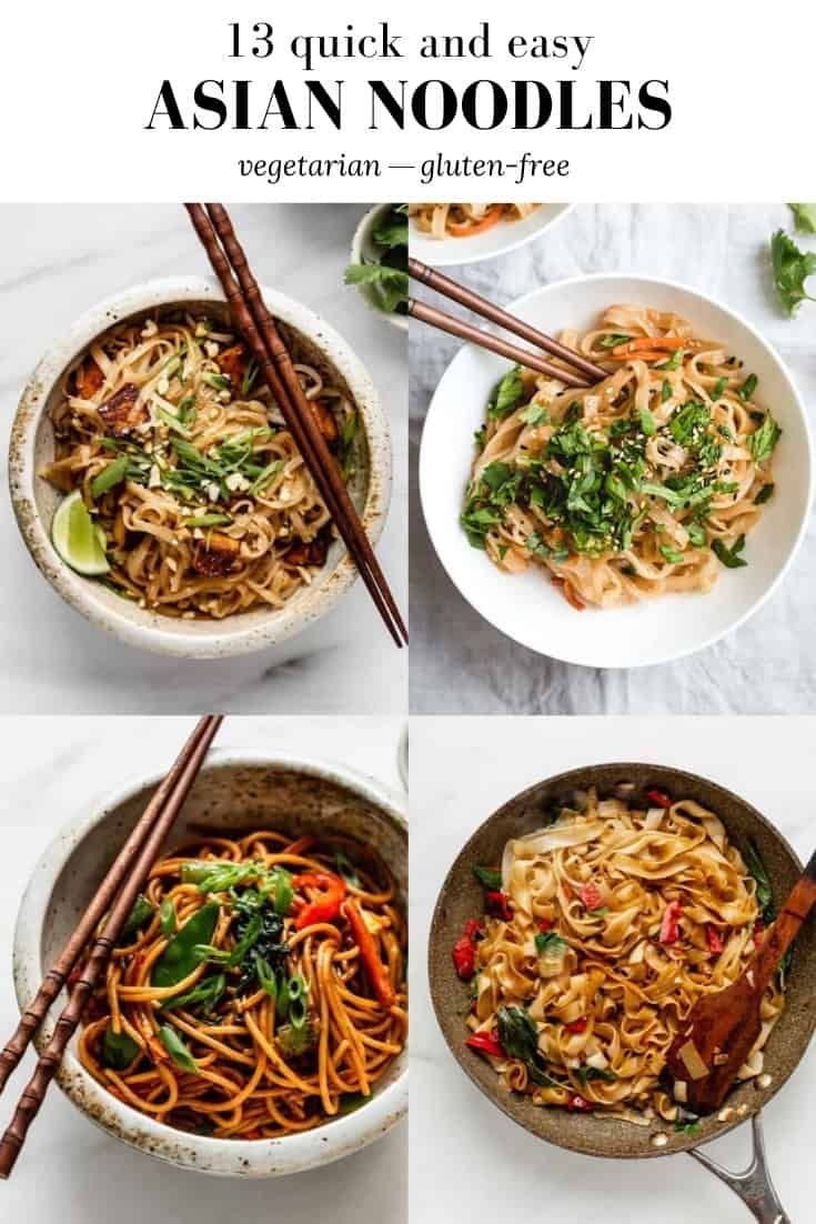 Photo of 13 Quick  Easy Asian Noodle Recipes