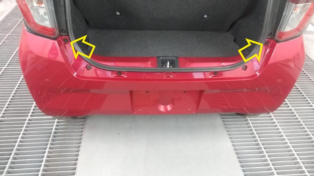 ミライースla350sリアバンパーの外し方 ばらし方 車ばらし Com 2021 ミライース リア 車輛