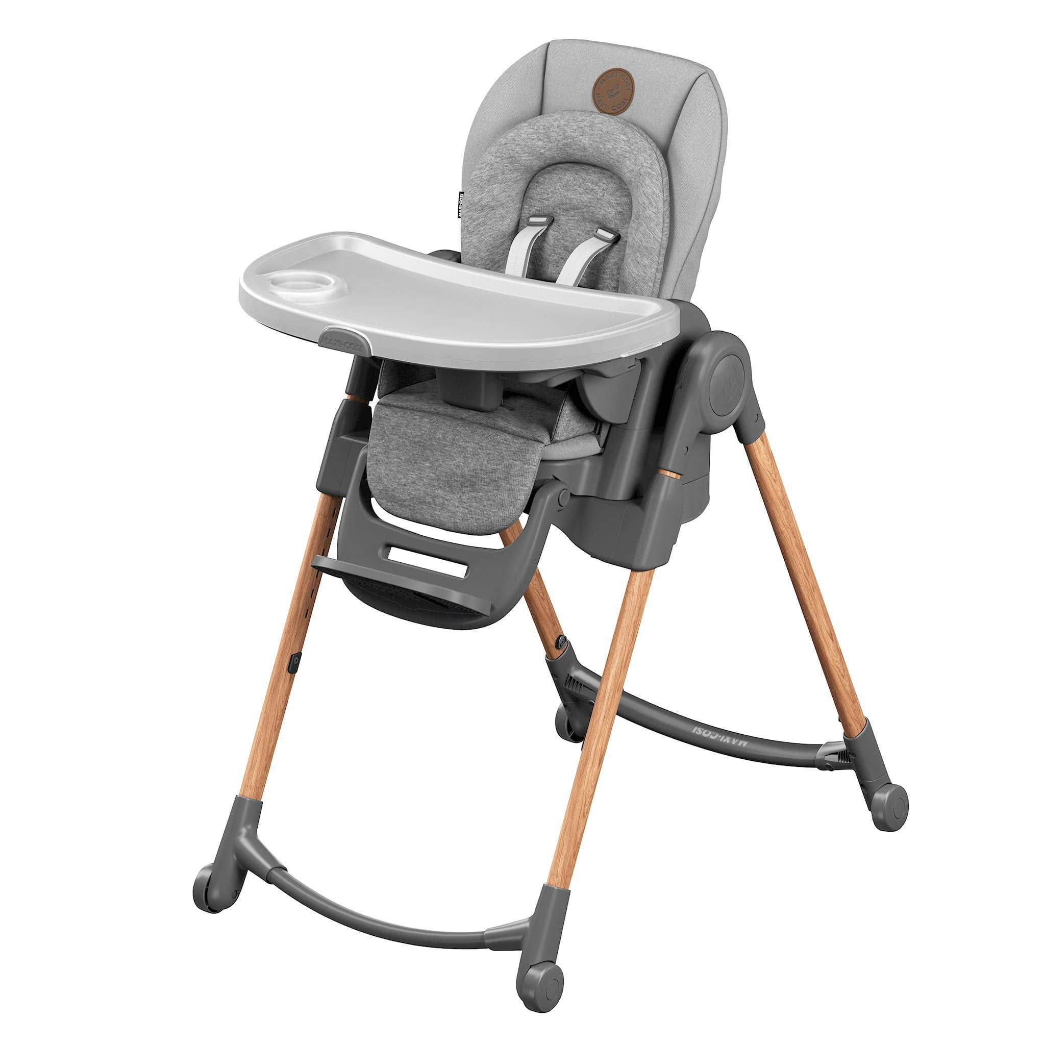 Chaise Haute Minla Gris Maxi Cosi Clement In 2020 High Chair Baby High Chair Baby Seat