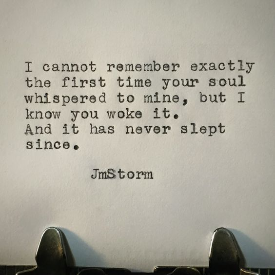 Words to live by: JmStorm