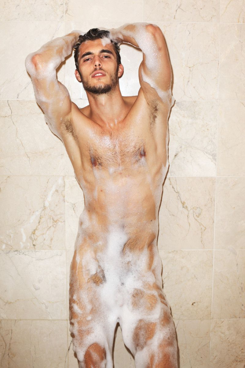 Gay guys in the shower pic