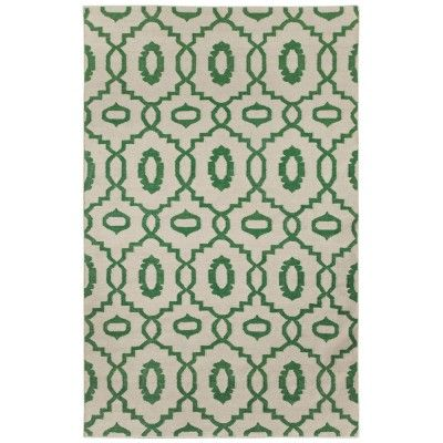 Genevieve Gorder Rug Moor Tile in Emerald   Rugs   Decorate   Colom and Brit Interiors
