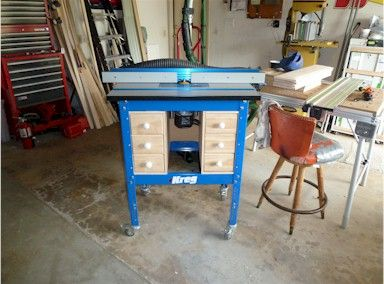 Pin by tom mcmahon on garageworkshop ideas pinterest router kreg router table plans just an observation thickness 27 1 2 nice video putting the finishing touch on a countertop i like the addition of the lower drawer keyboard keysfo Image collections