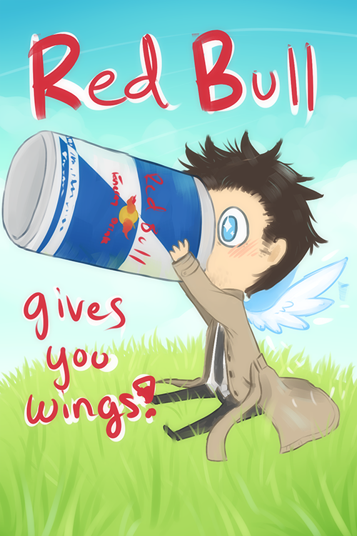 Now that's a recipe for disaster #Castiel #Supernatural