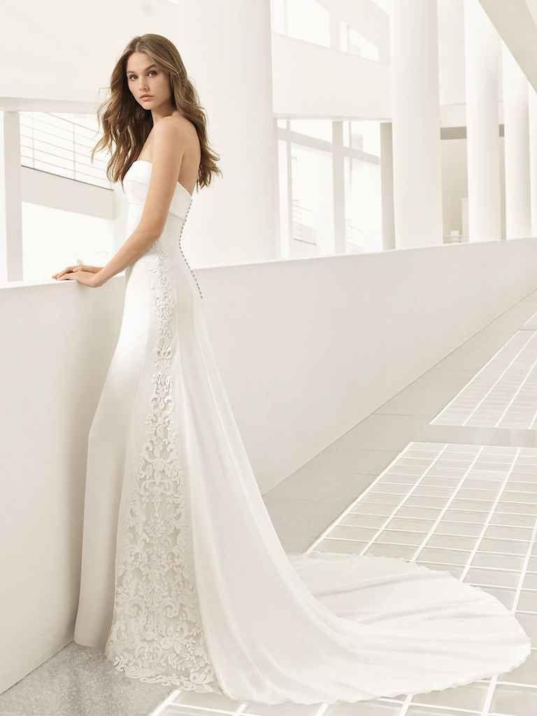 Ethereal wedding dress  Rosa Clará Fall  Evocatively Romantic and Ethereal Wedding
