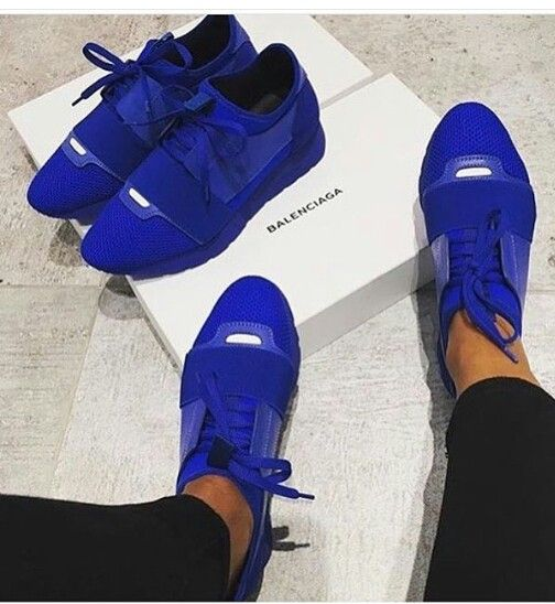 royal blue balenciaga sneakers