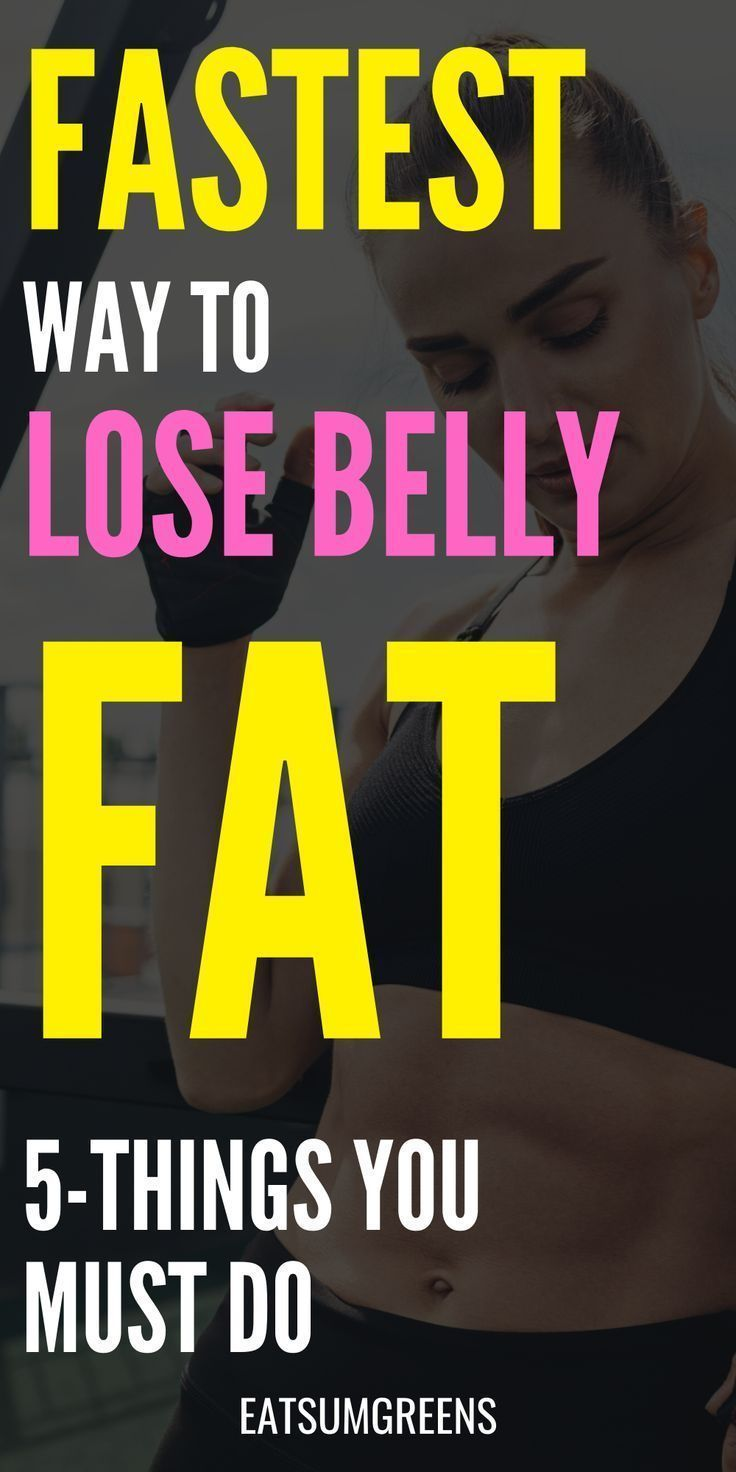 5-fastest ways to lose stomach fat