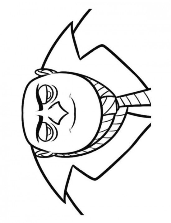 Mr Gru Despicable Me Coloring Pages 550x715 Picture