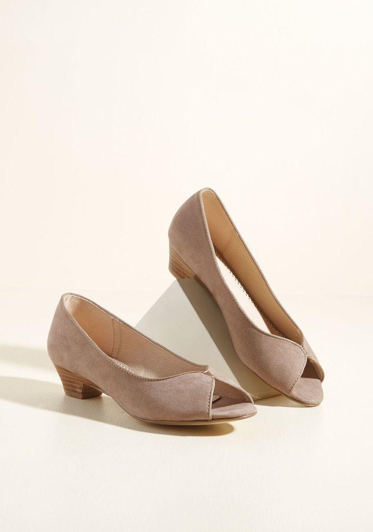 Taupe shoes, Peep toe heels, Peep toe shoes