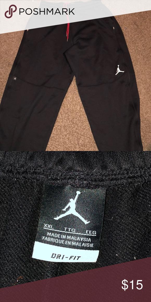 f2ce338441e Men's Jordan dri-fit pants Men's black Jordan Dri-fit pants Jordan Pants  Sweatpants & Joggers