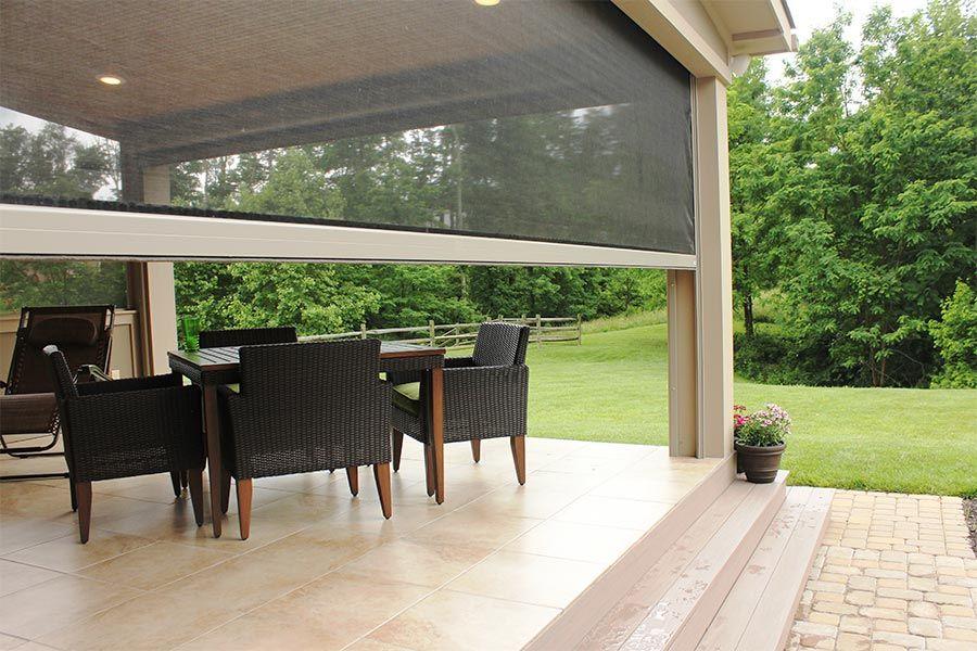 Panorama Stoett Industries Retractable patio screens