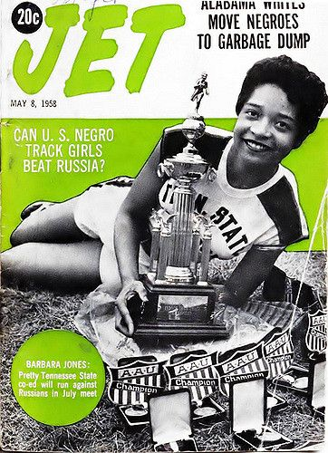 Can the US Black Track Girls Beat Russia - Jet Magazine, M… | Flickr