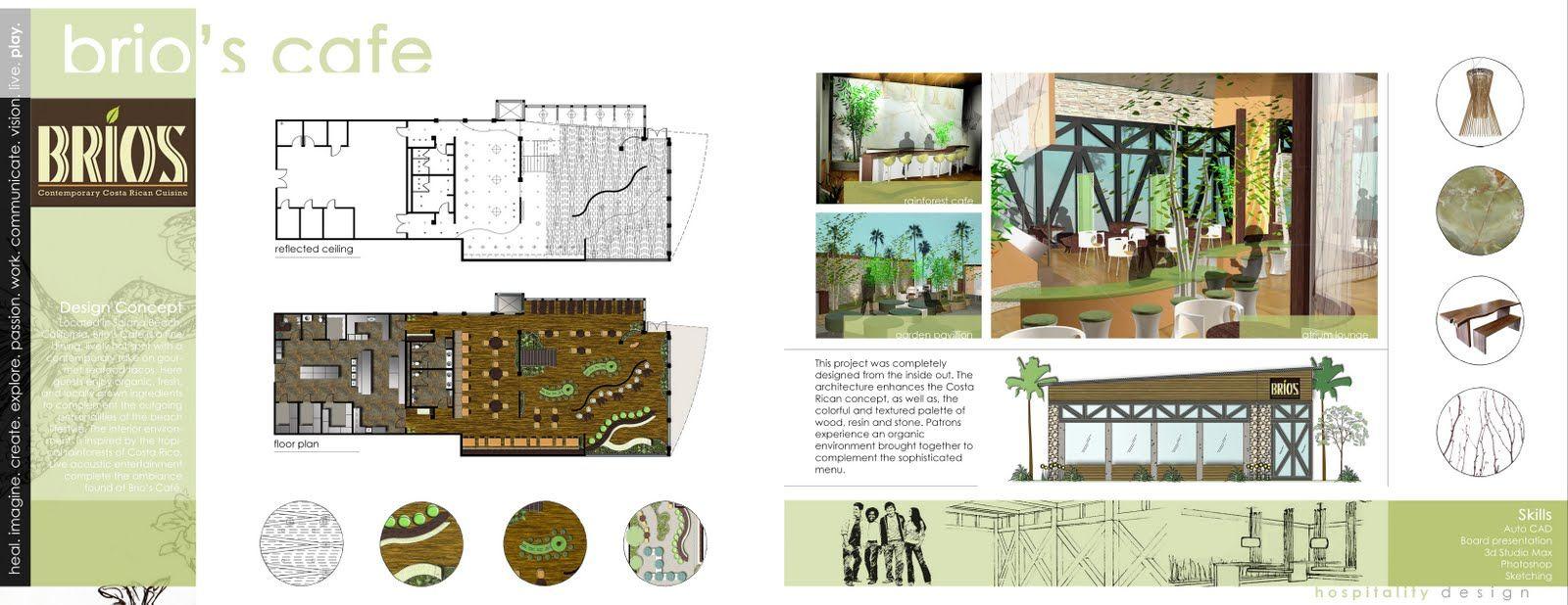 Hospitality Design Brio S Cafe Interior Design Portfolio