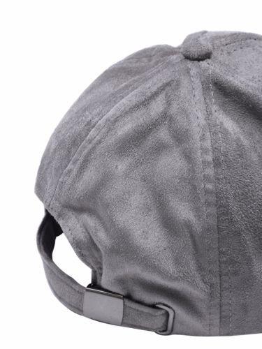 ace514b0f32 Artsivaris-Men-Women-Dark-Grey-Suede-Casual-Baseball-Cap-Trucker-Hat -23-4-034-Size