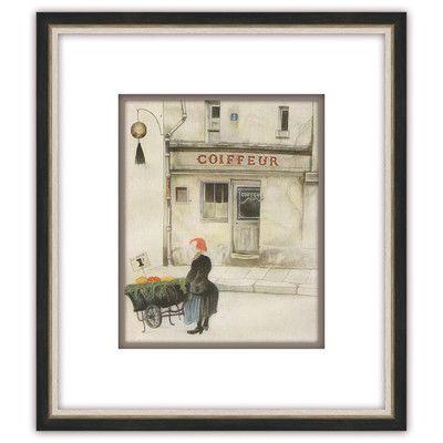 Melissa Van Hise Coiffeur Framed Painting Print