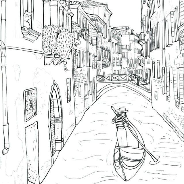 Картинки антистресс города италии данный