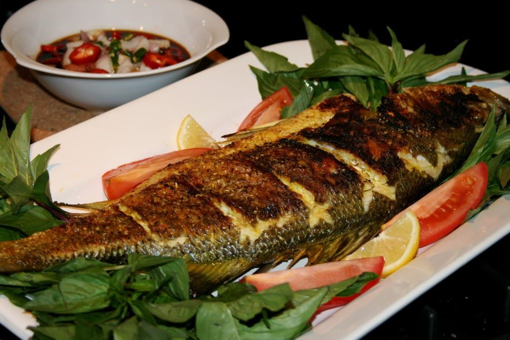 سمك مشوي بالفرن Tab5atmama Seafood Recipes Workout Food Persian Food