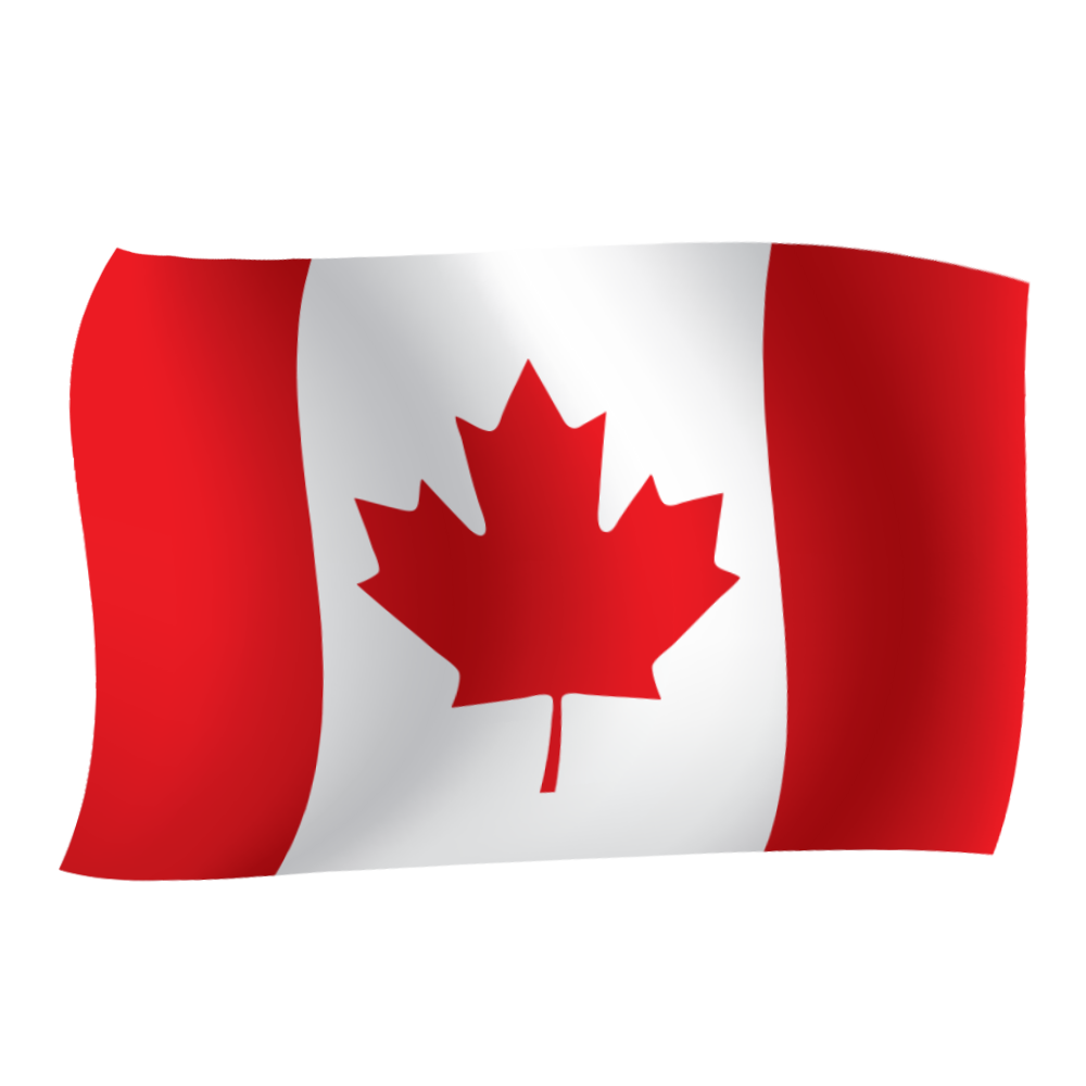 Free download high quality canada vector flag png image