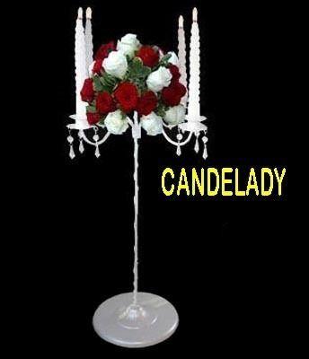 porta vela candelabro para areglo floral *directo de fabrica