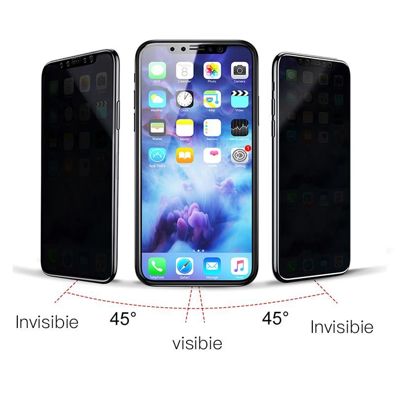 Mintiml privacy screen protector for iphone x mf shock