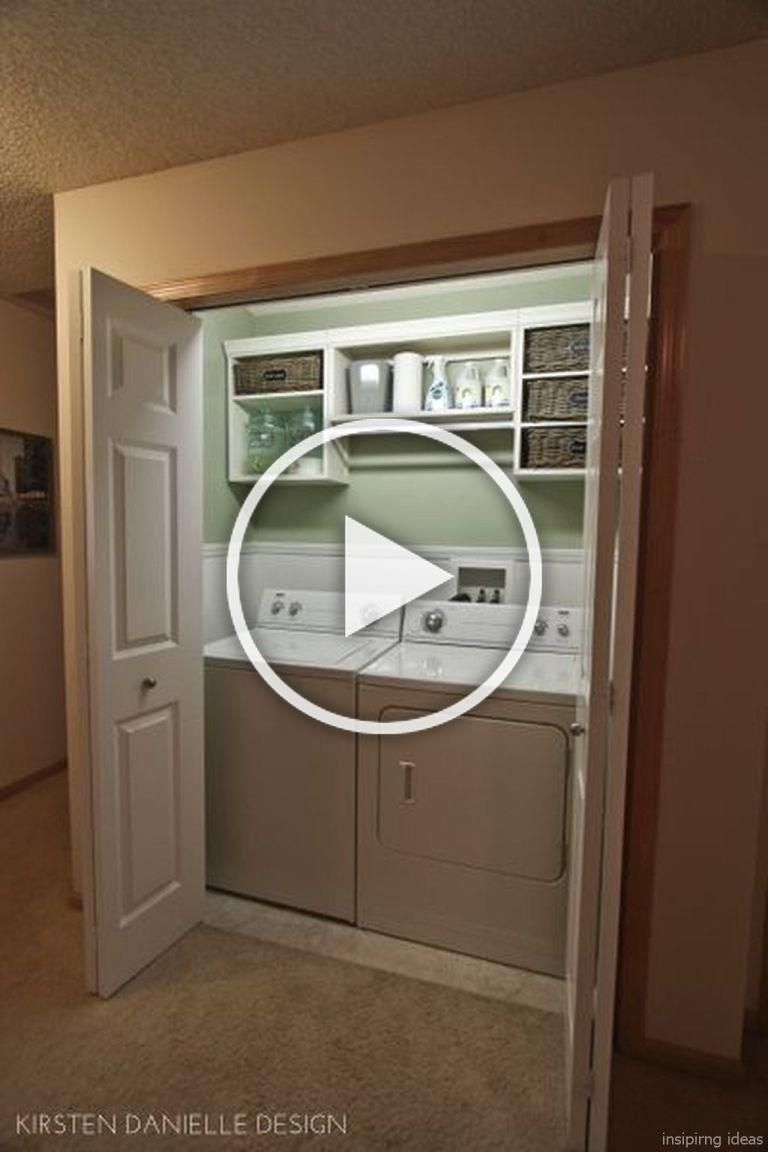 19 clever small laundry room design ideas in 2020 diy on effectively laundry room decoration ideas easy ideas to inspire you id=39806