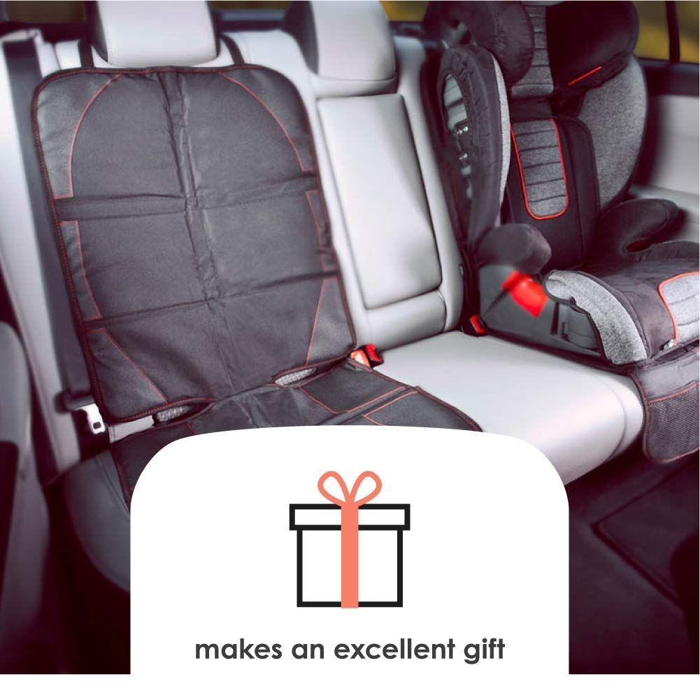 Diono Ultra Mat Deluxe Vehicle Seat Protector And Child Car Seat Sun Shade Black Ad Deluxe Vehicle Seat Dion Car Seats Seat Protector Child Car Seat