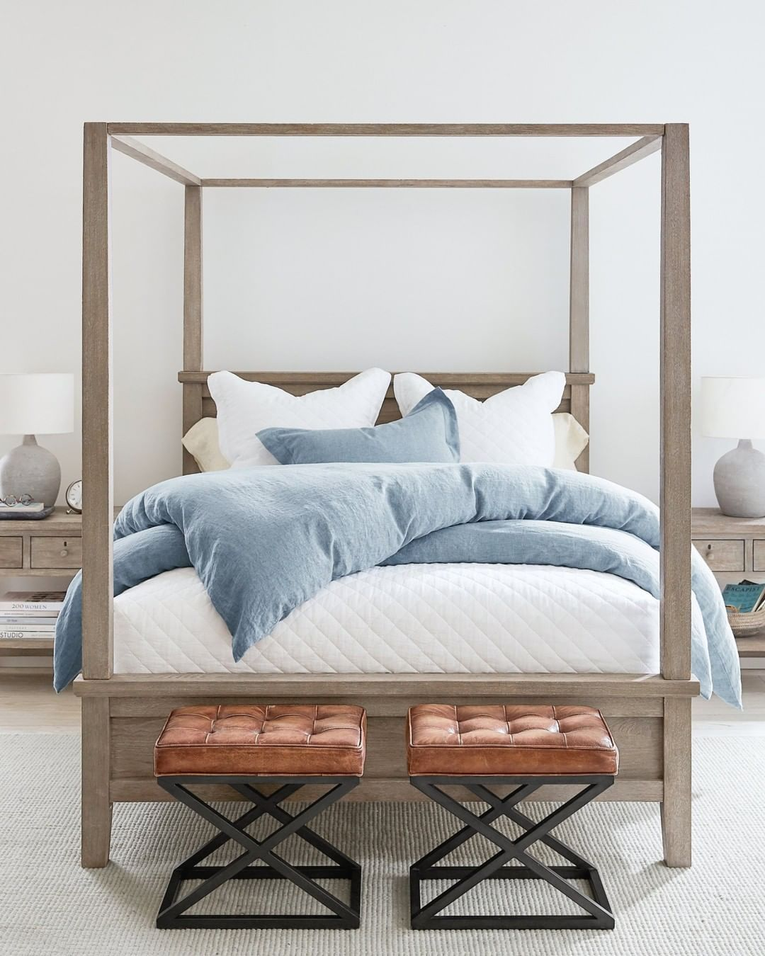 """Pottery Barn on Instagram """"You asked, we answered 🛏 Here"""