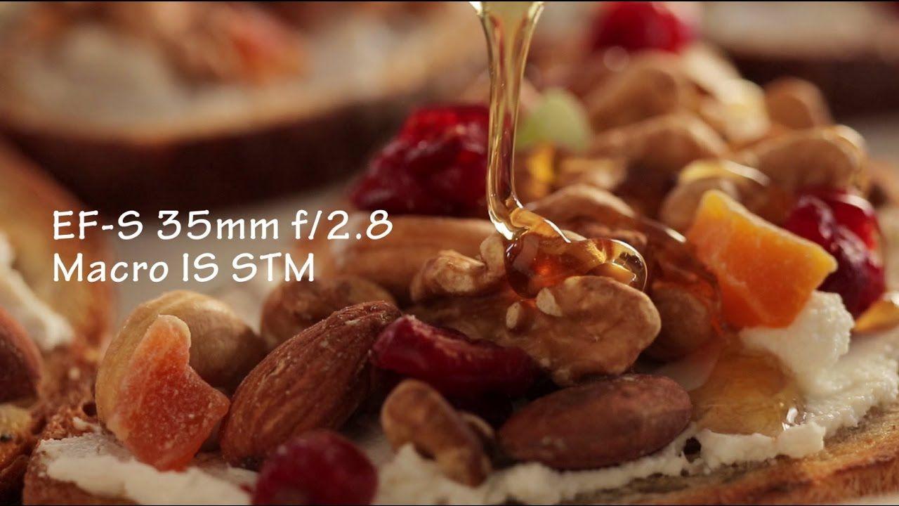Canon Ef S 35mm F 2 8 Macro Is Stm Lens Sample Movie Https Www Camerasdirect Com Au Canon Ef S 35mm F 2 8 M Cooking Photography Canon Macro Photography Macro