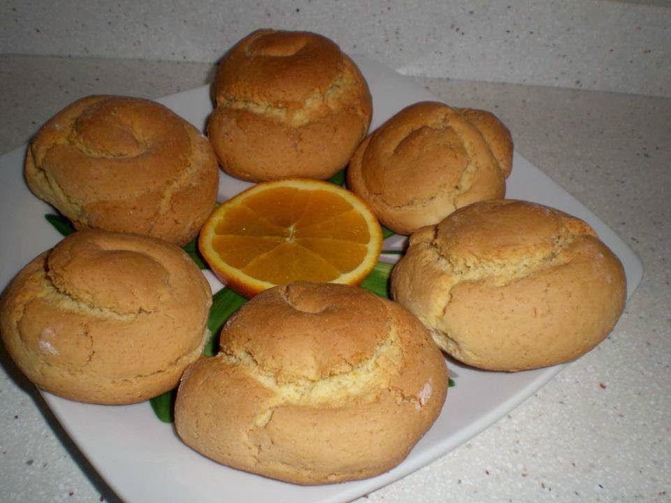 Las recetas de Noe: Bollos dulces con naranja