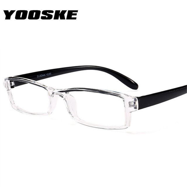 d58efbf7a9 YOOSKE Reading Glasses Men Women HD Resin Lens Presbyopic Fashion Hyperopia  Reading Glasses 1.0 1.5 .2.0 2.5 3.0 Review