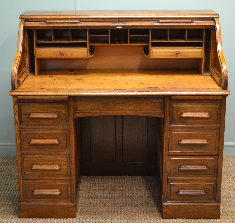 How to Build a Roll Top Desk Desk, Antique hoosier