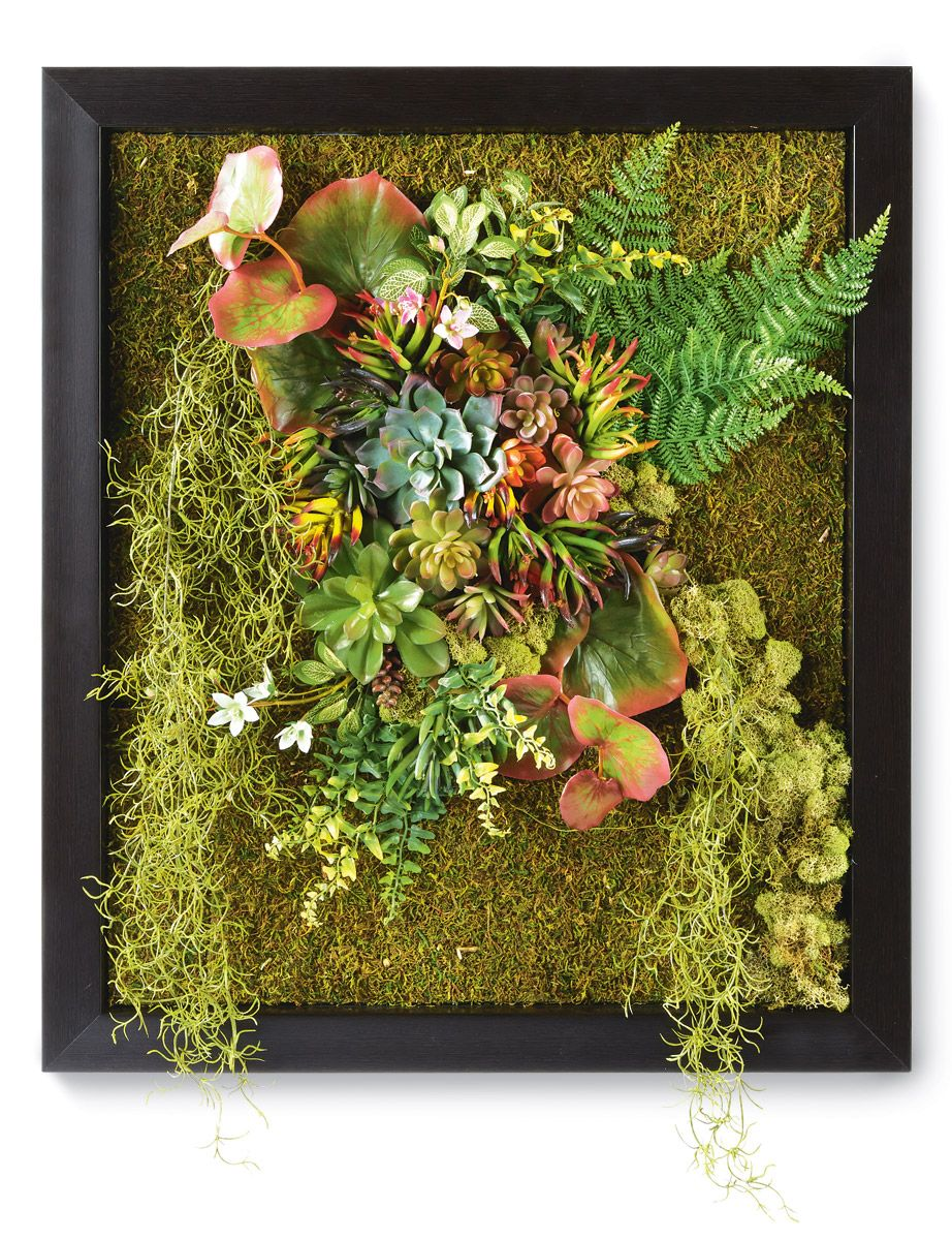 Living Wall-love this! | Crafts | Pinterest | Living walls, Fake ...