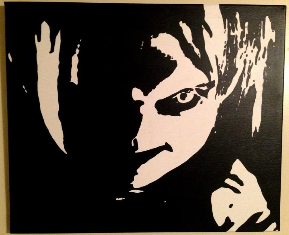 Chucky Clipart Black And White: Child's Play Hand Painted On Canvas Www