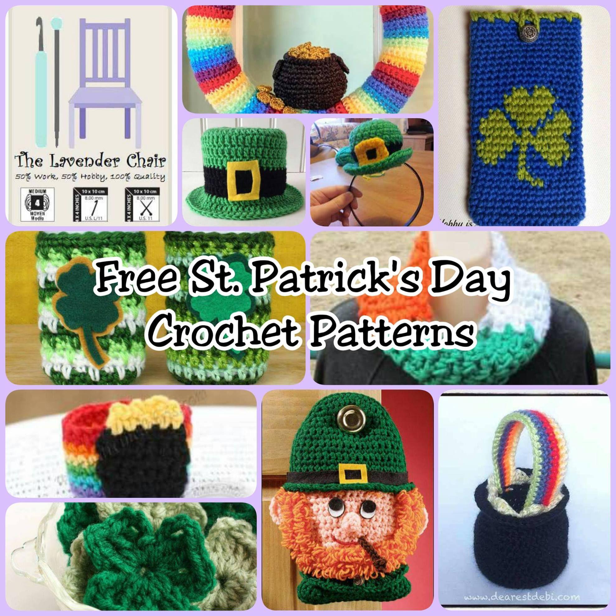 10 FREE St. Patrick\'s Day Crochet Patterns | Häkeln
