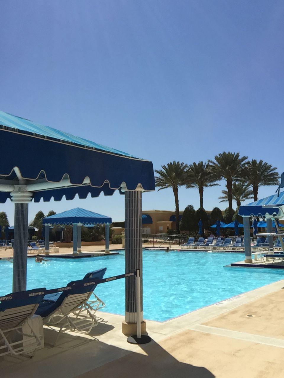 Beau Rivage Resort Casino Pool Area Biloxi Mississippi Pool